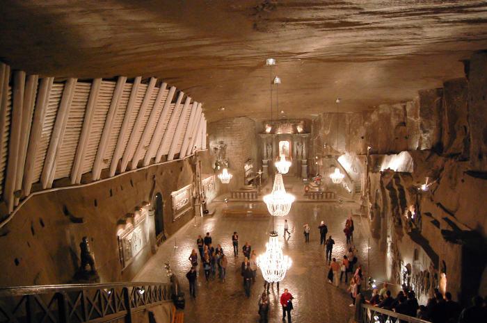 Podziemna Wieliczka – zwiedzanie kaplicy św. Kingi