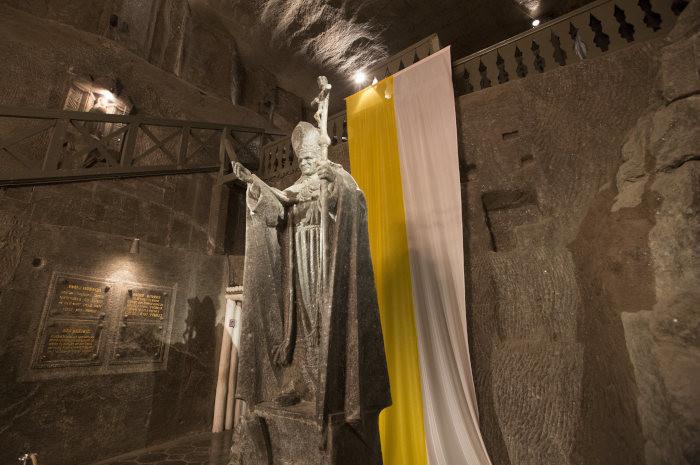 Solny pomnik Jana Pawła II