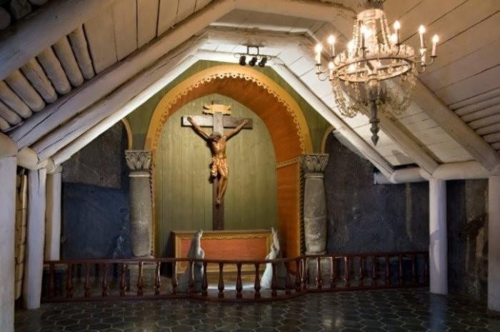 Drewniana Kaplica św. Krzyża
