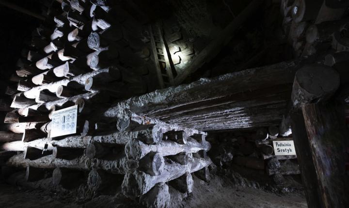 Περιοχή Miners Route στο αλατωρυχείο Βιελίτσκα